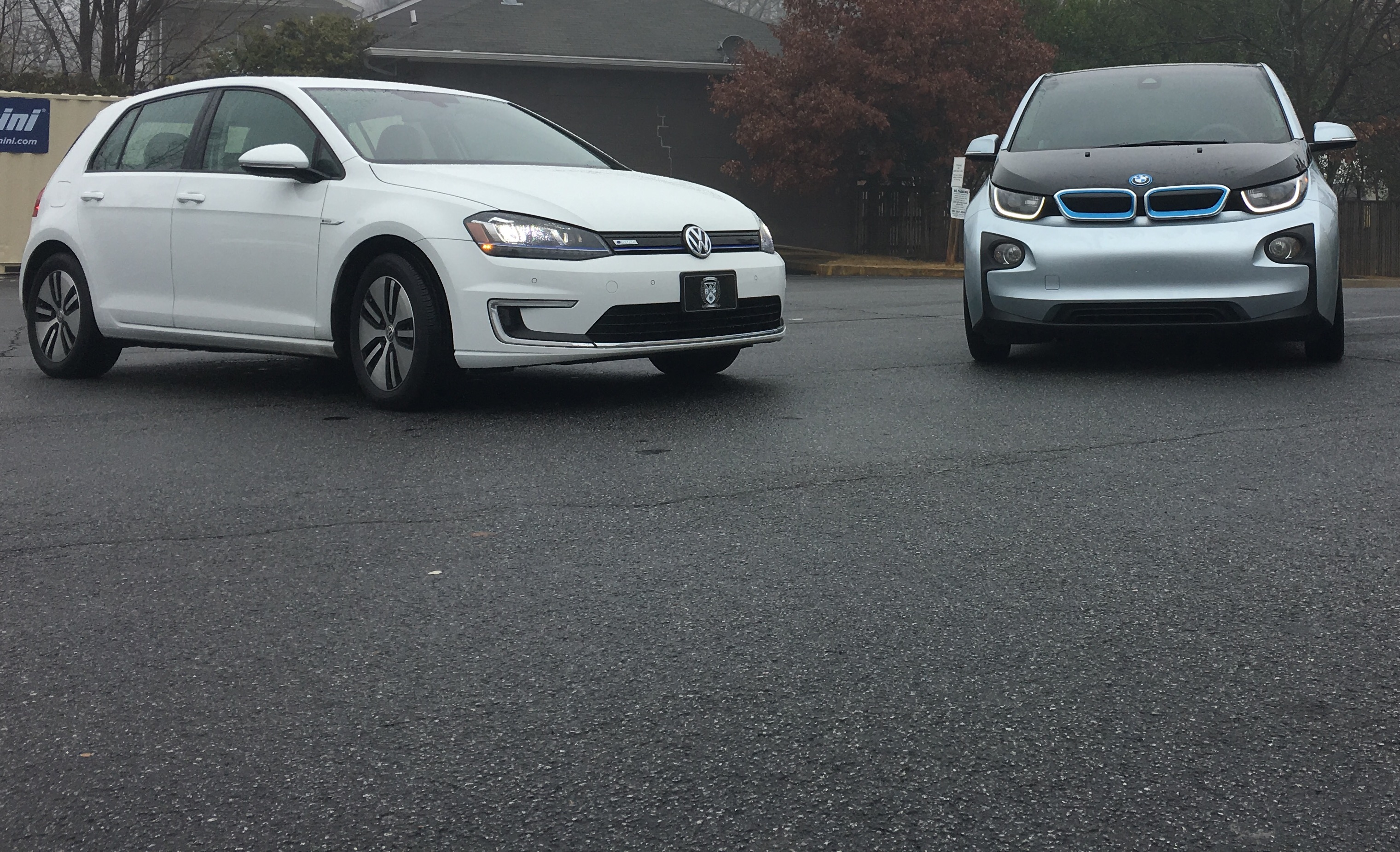 VW eGolf & BMW i3